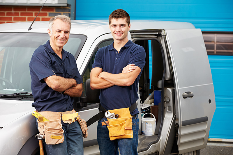 Registered Heating installers Next To Van